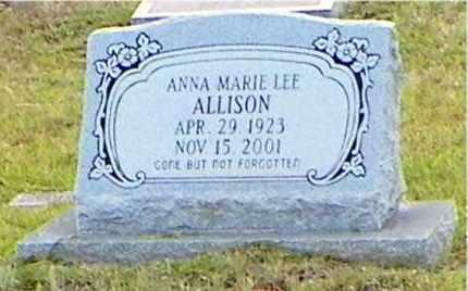 ALLISON, ANNA MARIE - Claiborne County, Louisiana | ANNA MARIE ALLISON - Louisiana Gravestone Photos