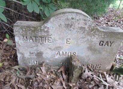 GAY AMOS, MATTIE E - Claiborne County, Louisiana | MATTIE E GAY AMOS - Louisiana Gravestone Photos