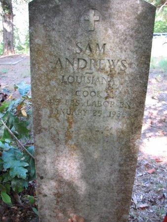 ANDREWS, SAM  (VETERAN) - Claiborne County, Louisiana | SAM  (VETERAN) ANDREWS - Louisiana Gravestone Photos