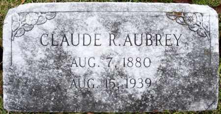 AUBRET, CLAUDE R - Claiborne County, Louisiana | CLAUDE R AUBRET - Louisiana Gravestone Photos