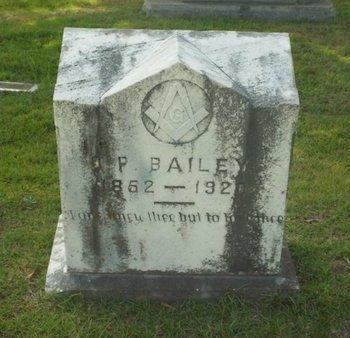 BAILEY, O P - Claiborne County, Louisiana | O P BAILEY - Louisiana Gravestone Photos