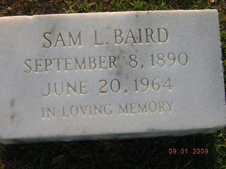BAIRD, SAM L - Claiborne County, Louisiana | SAM L BAIRD - Louisiana Gravestone Photos