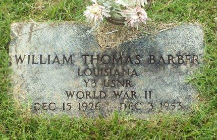 BARBER, WILLIAM THOMAS (VETERAN WWII) - Claiborne County, Louisiana | WILLIAM THOMAS (VETERAN WWII) BARBER - Louisiana Gravestone Photos
