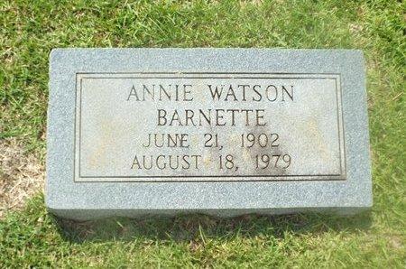 BARNETTE, ANNIE - Claiborne County, Louisiana | ANNIE BARNETTE - Louisiana Gravestone Photos