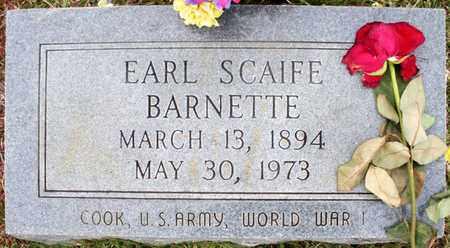 BARNETTE, EARL SCAIFE - Claiborne County, Louisiana | EARL SCAIFE BARNETTE - Louisiana Gravestone Photos