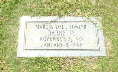 BARNETTE, MARCIA DELL - Claiborne County, Louisiana | MARCIA DELL BARNETTE - Louisiana Gravestone Photos
