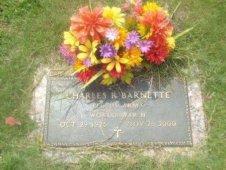 BARNETTE, CHARLES R (VETERAN WWII) - Claiborne County, Louisiana | CHARLES R (VETERAN WWII) BARNETTE - Louisiana Gravestone Photos