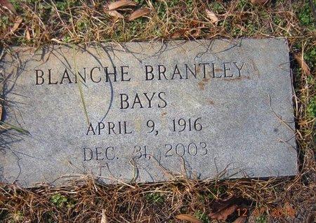 BAYS, BLANCHE - Claiborne County, Louisiana | BLANCHE BAYS - Louisiana Gravestone Photos
