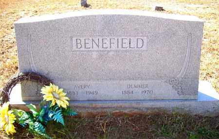 SHAW BENEFIELD, DEMMER - Claiborne County, Louisiana | DEMMER SHAW BENEFIELD - Louisiana Gravestone Photos