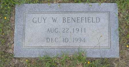 BENEFIELD, GUY W - Claiborne County, Louisiana | GUY W BENEFIELD - Louisiana Gravestone Photos