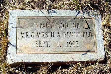 BENEFIELD, INFANT SON - Claiborne County, Louisiana | INFANT SON BENEFIELD - Louisiana Gravestone Photos