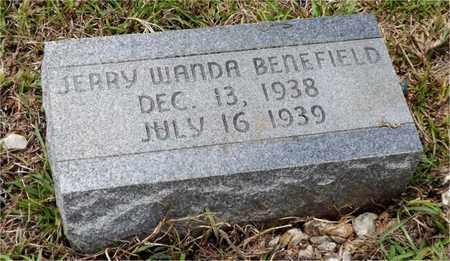 BENEFIELD, JERRY WANDA - Claiborne County, Louisiana   JERRY WANDA BENEFIELD - Louisiana Gravestone Photos