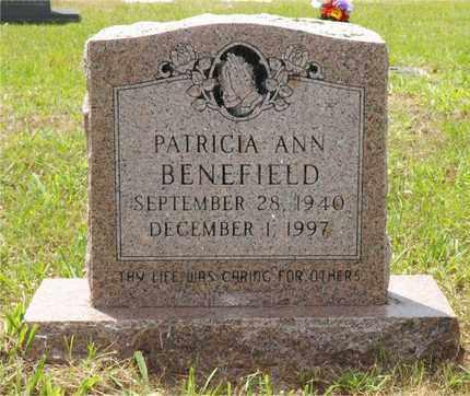 BENEFIELD, PATRICIA ANN - Claiborne County, Louisiana | PATRICIA ANN BENEFIELD - Louisiana Gravestone Photos