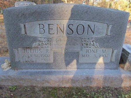 BENSON, JULIUS R - Claiborne County, Louisiana | JULIUS R BENSON - Louisiana Gravestone Photos