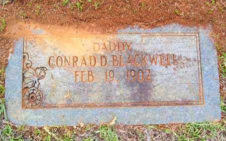 BLACKWELL, CONRAD D - Claiborne County, Louisiana | CONRAD D BLACKWELL - Louisiana Gravestone Photos