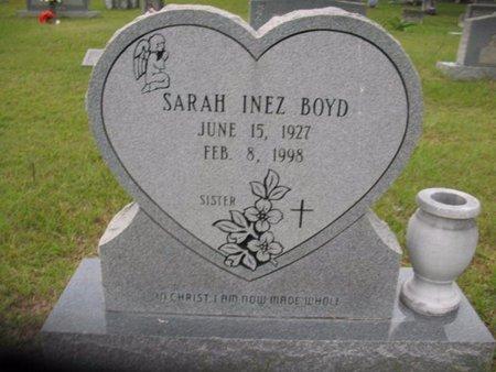 BOYD, SARAH INEZ - Claiborne County, Louisiana | SARAH INEZ BOYD - Louisiana Gravestone Photos