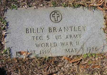 BRANTLEY, BILLY (VETERAN WWII) - Claiborne County, Louisiana | BILLY (VETERAN WWII) BRANTLEY - Louisiana Gravestone Photos
