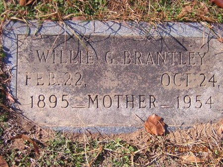 BRANTLEY, WILLIE G - Claiborne County, Louisiana | WILLIE G BRANTLEY - Louisiana Gravestone Photos