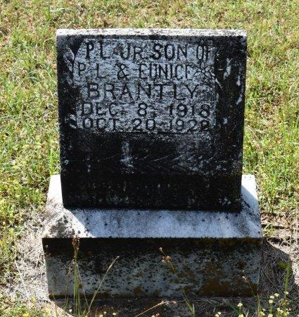 BRANTLY, PENN LEARY, JR - Claiborne County, Louisiana   PENN LEARY, JR BRANTLY - Louisiana Gravestone Photos