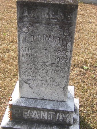 BRANTLY, W D - Claiborne County, Louisiana | W D BRANTLY - Louisiana Gravestone Photos
