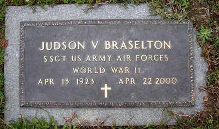 BRASELTON, JUDSON V (VETERAN WWII) - Claiborne County, Louisiana | JUDSON V (VETERAN WWII) BRASELTON - Louisiana Gravestone Photos
