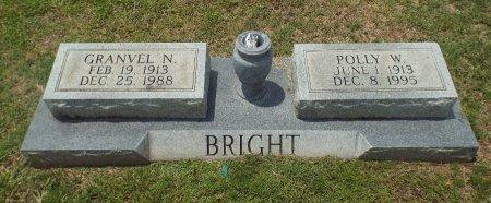 BRIGHT, GRANVEL N - Claiborne County, Louisiana | GRANVEL N BRIGHT - Louisiana Gravestone Photos