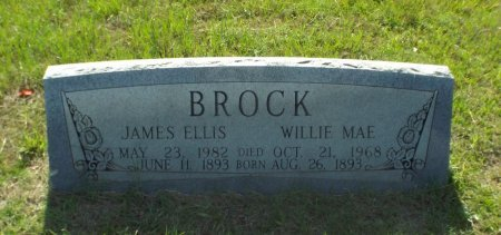 BROCK, WILLIE MAE - Claiborne County, Louisiana | WILLIE MAE BROCK - Louisiana Gravestone Photos