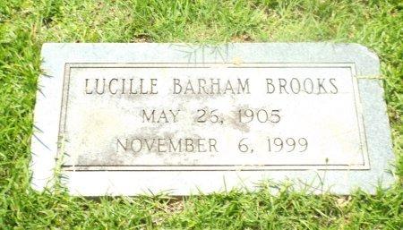 BARHAM BROOKE, LUCILLE - Claiborne County, Louisiana | LUCILLE BARHAM BROOKE - Louisiana Gravestone Photos