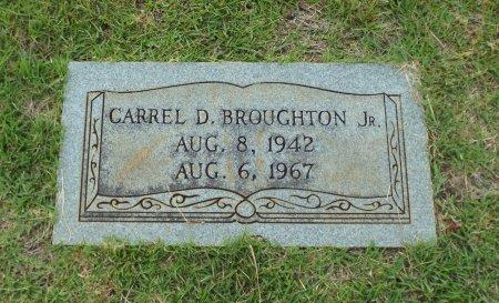 BROUGHTON, CARREL D., JR - Claiborne County, Louisiana   CARREL D., JR BROUGHTON - Louisiana Gravestone Photos