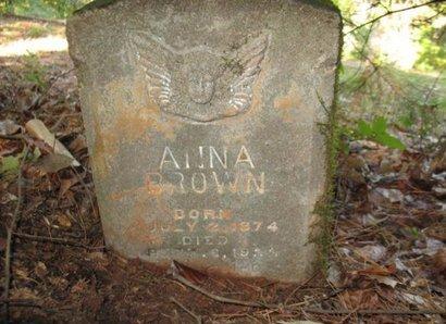 BROWN, ANNA - Claiborne County, Louisiana | ANNA BROWN - Louisiana Gravestone Photos