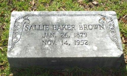 BROWN, SALLIE - Claiborne County, Louisiana | SALLIE BROWN - Louisiana Gravestone Photos
