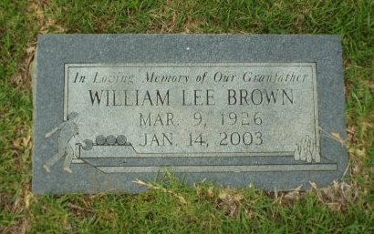 BROWN, WILLIAM LEE - Claiborne County, Louisiana | WILLIAM LEE BROWN - Louisiana Gravestone Photos
