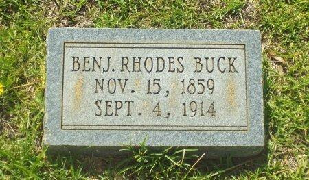 BUCK, BENJ. RHODES - Claiborne County, Louisiana | BENJ. RHODES BUCK - Louisiana Gravestone Photos