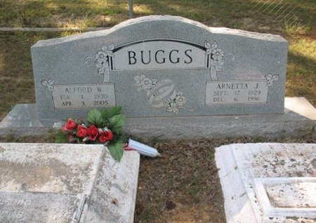 BUGGS, ARNETTA J - Claiborne County, Louisiana | ARNETTA J BUGGS - Louisiana Gravestone Photos
