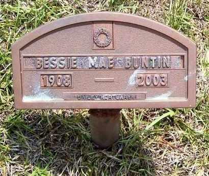 MARTIN BUNTIN, BESSIE MAE - Claiborne County, Louisiana   BESSIE MAE MARTIN BUNTIN - Louisiana Gravestone Photos