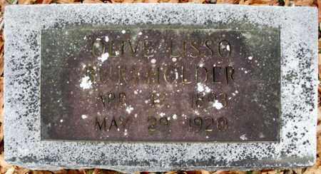 BURKHOLDER, OLIVE - Claiborne County, Louisiana   OLIVE BURKHOLDER - Louisiana Gravestone Photos