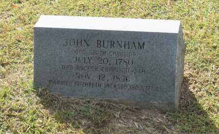 BURNHAM, JOHN - Claiborne County, Louisiana | JOHN BURNHAM - Louisiana Gravestone Photos