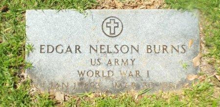 BURNS  , EDGAR NELSON (VETERAN WWI) - Claiborne County, Louisiana | EDGAR NELSON (VETERAN WWI) BURNS   - Louisiana Gravestone Photos