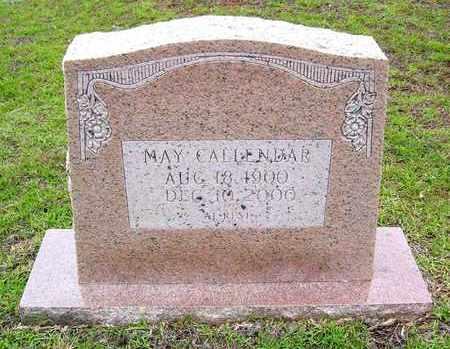 CALLENDAR, MAY - Claiborne County, Louisiana   MAY CALLENDAR - Louisiana Gravestone Photos