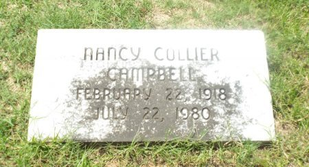 COLLIER CAMPBELL, NANCY - Claiborne County, Louisiana | NANCY COLLIER CAMPBELL - Louisiana Gravestone Photos