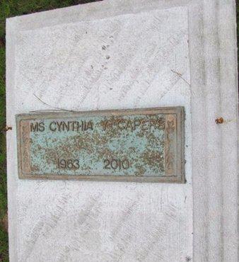 CAPERS, CYNTHIA Y, MS - Claiborne County, Louisiana | CYNTHIA Y, MS CAPERS - Louisiana Gravestone Photos