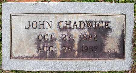 CHADWICK, JOHN - Claiborne County, Louisiana | JOHN CHADWICK - Louisiana Gravestone Photos