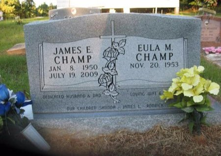 CHAMP, JAMES E - Claiborne County, Louisiana | JAMES E CHAMP - Louisiana Gravestone Photos