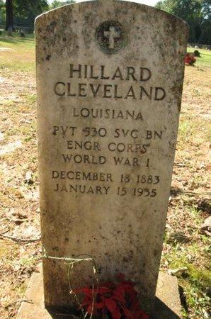 CLEVELAND, HILLARD  (VETERAN WWI) - Claiborne County, Louisiana   HILLARD  (VETERAN WWI) CLEVELAND - Louisiana Gravestone Photos