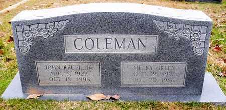 COLEMAN, JOHN REUEL,JR - Claiborne County, Louisiana   JOHN REUEL,JR COLEMAN - Louisiana Gravestone Photos