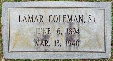 COLEMAN, LAMAR,SR - Claiborne County, Louisiana | LAMAR,SR COLEMAN - Louisiana Gravestone Photos