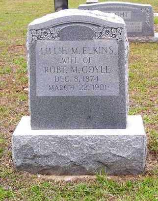 COYLE, LILLIE M - Claiborne County, Louisiana | LILLIE M COYLE - Louisiana Gravestone Photos