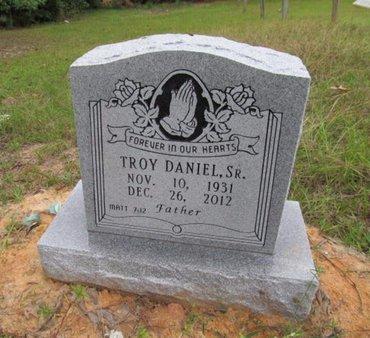 DANIEL, TROY, SR - Claiborne County, Louisiana | TROY, SR DANIEL - Louisiana Gravestone Photos