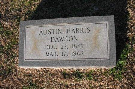 DAWSON, AUSTIN HARRIS - Claiborne County, Louisiana | AUSTIN HARRIS DAWSON - Louisiana Gravestone Photos