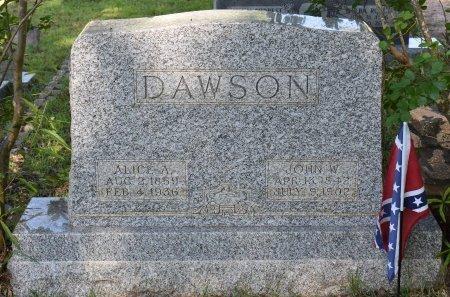 DAWSON, ALICE A - Claiborne County, Louisiana | ALICE A DAWSON - Louisiana Gravestone Photos